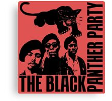 BLACK PANTHER PARTY Canvas Print