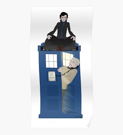 Sherlock - Doctor Who - Wholock Poster
