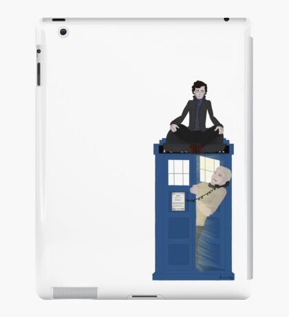 Sherlock - Doctor Who - Wholock iPad Case/Skin