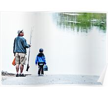 FISHING WITH DAD Poster