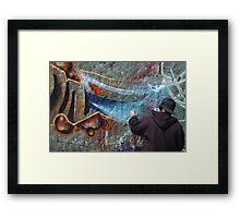 Venice Tagger Framed Print