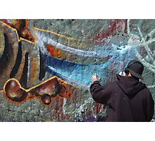 Venice Tagger Photographic Print
