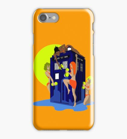 Tardis wash iPhone Case/Skin