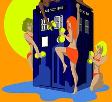 Tardis wash by Everdreamer