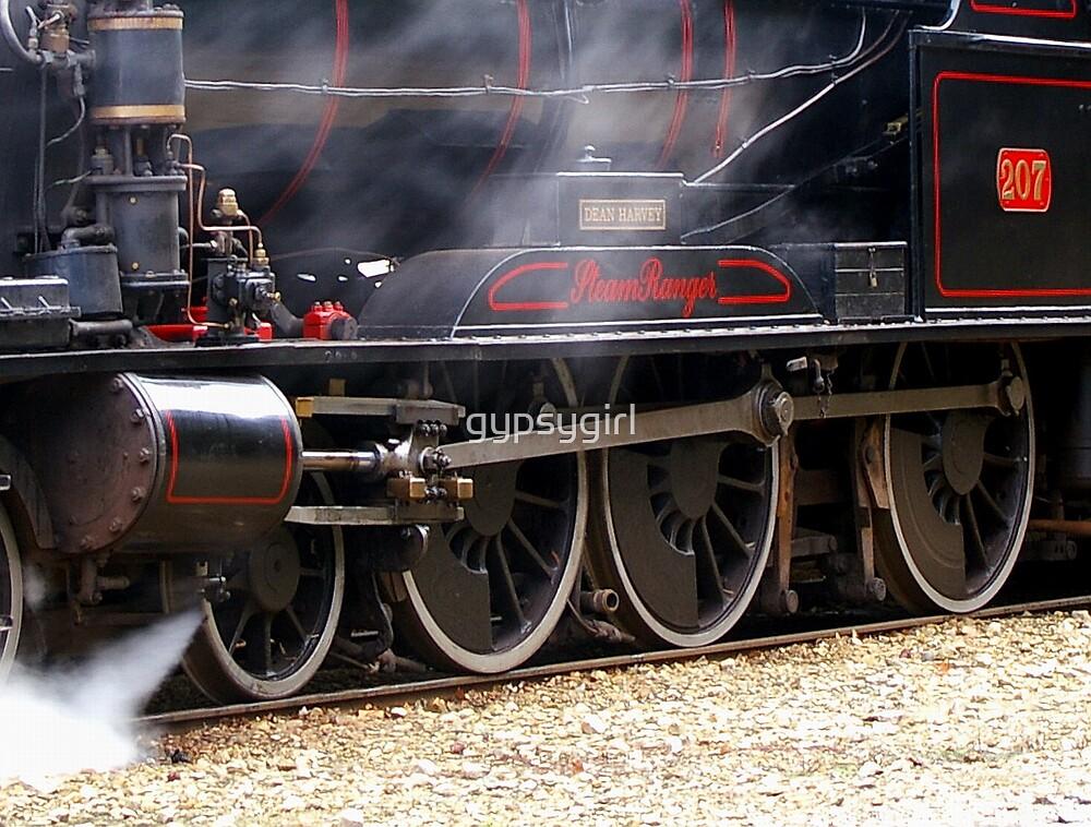 Steam train by gypsygirl