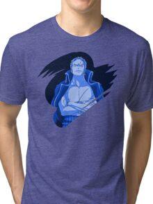 Roronoa Zoro - Blue Theme Tri-blend T-Shirt