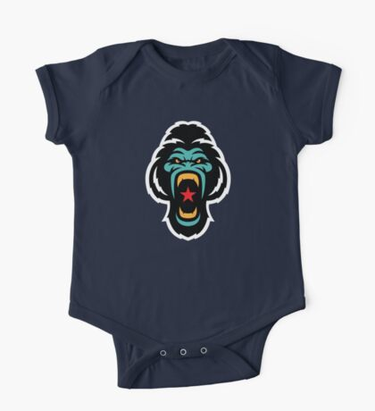 Gorilla  One Piece - Short Sleeve
