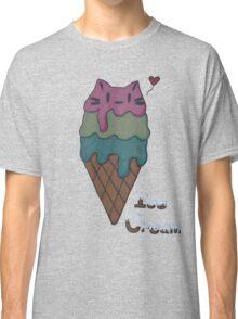 Ice Cream Cat Classic T-Shirt