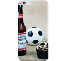 Prioritise: Cupcake, Beer, Football? iPhone Case/Skin