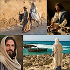 Scenes from the Life of Christ Collage by Kathryn Jones