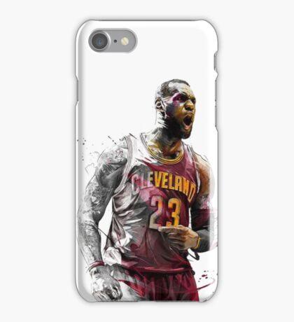Lebron James King Cavs iPhone Case/Skin