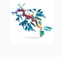 Geometric Abstract Weedy Sea Dragon Unisex T-Shirt