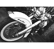 Classic Bike Photographic Print