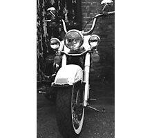 Classic Motorcycle Photographic Print