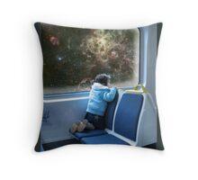 Tarantula Nebula Station Throw Pillow