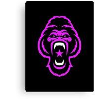 Pink Gorilla Canvas Print