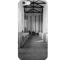 Abbey of Gethsemani - B&W iPhone Case/Skin