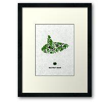 Majora's Mask Ocarina Framed Print