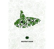 Majora's Mask Ocarina Photographic Print
