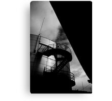 Upwards and Under Canvas Print