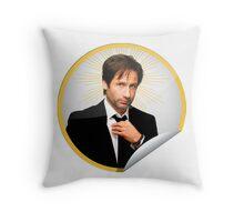 Hank Moody Throw Pillow