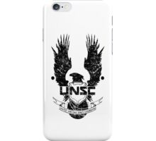 UNSC LOGO HALO 4 - GRUNT DISTRESSED LOOK iPhone Case/Skin