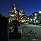 Boston MA - Harbour Lights by ColinKemp