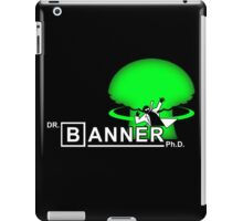 Dr. Banner Ph.D iPad Case/Skin