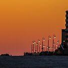 Sunset on Boardwalk by KarenDinan
