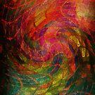 curly rainbow net by Diana Calvario