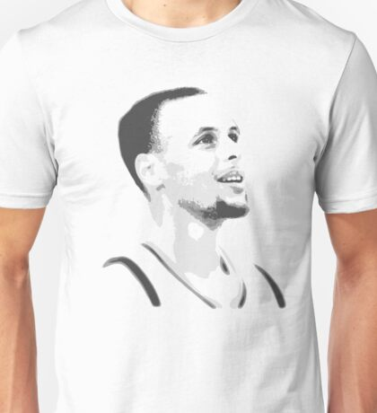 Steph Curry Black And White Unisex T-Shirt