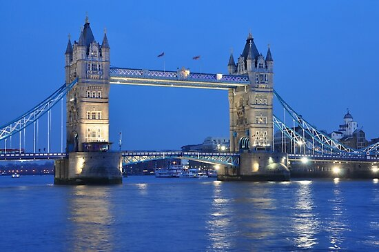 Tower Bridge Blues by ColinKemp