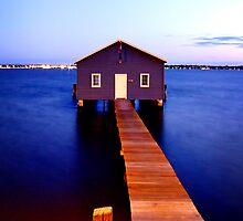 Matilda Bay Boat Shed by autumnleaf