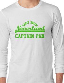 Neverland Lost Boys - Captain Pan Long Sleeve T-Shirt