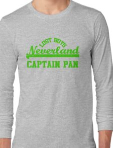 Neverland Lost Boys - Captain Pan Long Sleeve T-Shirt