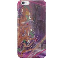 Purple lightning iPhone Case/Skin