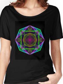 Mandala Geo Women's Relaxed Fit T-Shirt