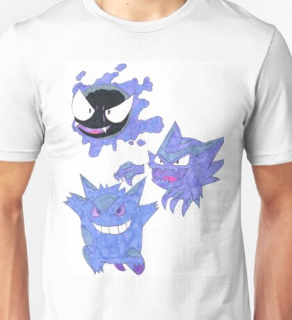 Evolved Ghosts Unisex T-Shirt