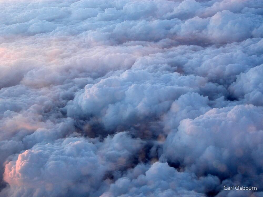 Cloud surfing by Carl Osbourn