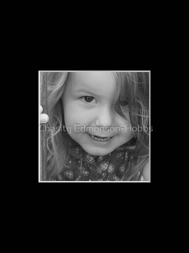 Jayden peek a boo in black and white by Chasity Edmonson-Hobbs