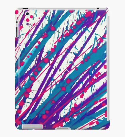 Psychedelic Splash  iPad Case/Skin