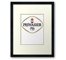 Gta 5 Piswasser beer - Pißwasser var 2 Framed Print