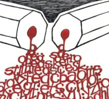 Freedom for journalist Sticker