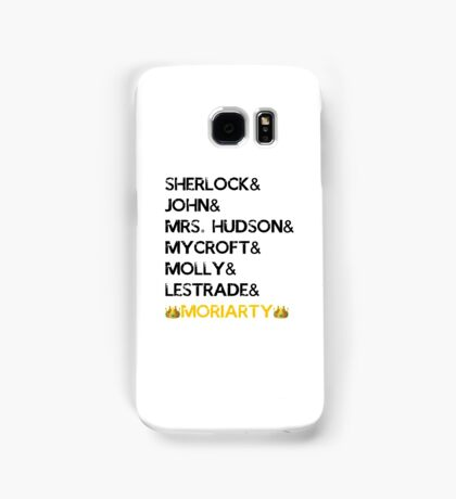 Names + Moriarty being a savage Samsung Galaxy Case/Skin