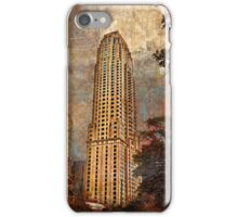 And the city grew iPhone Case/Skin