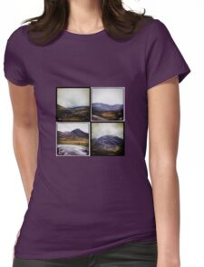 Four scenes from the Highlands Womens Fitted T-Shirt