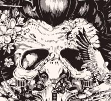 Chinese skull Sticker