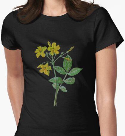 Carolina Jasmine Womens Fitted T-Shirt