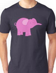 Pink Elephant | Whimsical Animals Unisex T-Shirt