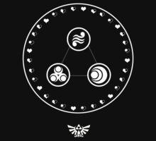 Legend of Zelda - Goddesses of Faith by CastleDownpour